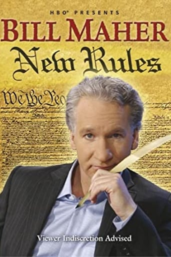 Poster of Bill Maher:  New Rules