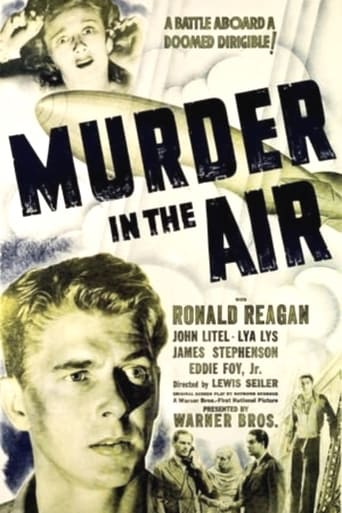 Poster of Murder in the Air