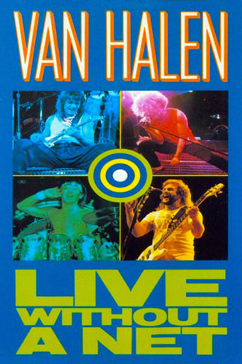Poster of Van Halen - Live Without a Net