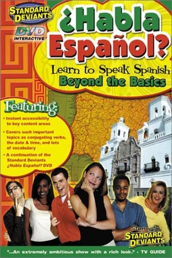 Poster of Habla Espanol: Beyond the Basics: The Standard Deviants