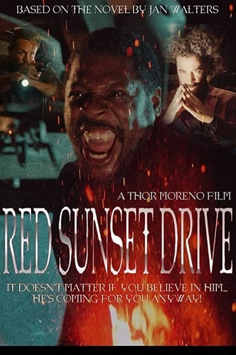 Red Sunset Drive Poster