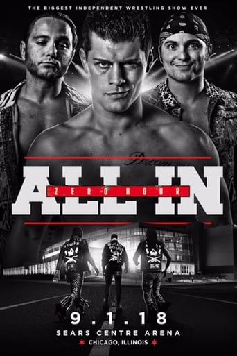 Poster of All In: Zero Hour