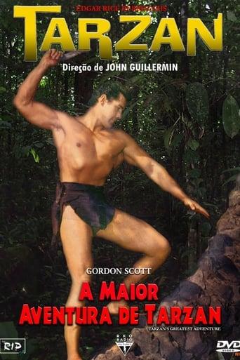 A Maior Aventura de Tarzan - Poster