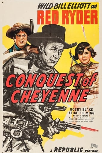 Poster of Conquest of Cheyenne