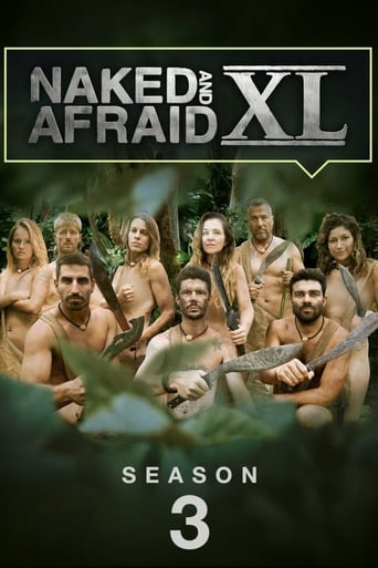 Naked and Afraid XL 3ª Temporada - Poster
