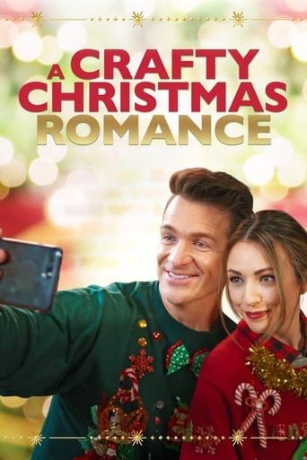 A Crafty Christmas Romance Poster
