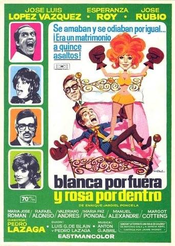 Poster of Blanca por fuera y Rosa por dentro