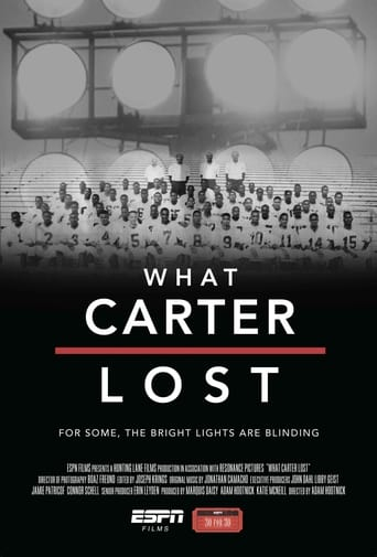 What Carter Lost poster