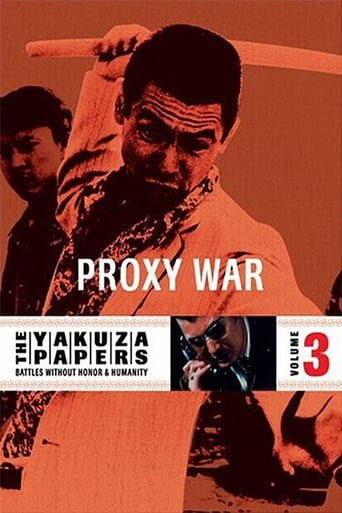 Poster of The Yakuza Papers, Vol. 3: Proxy War