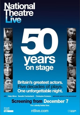 Poster of National Theatre Live: Fifty Years on Stage