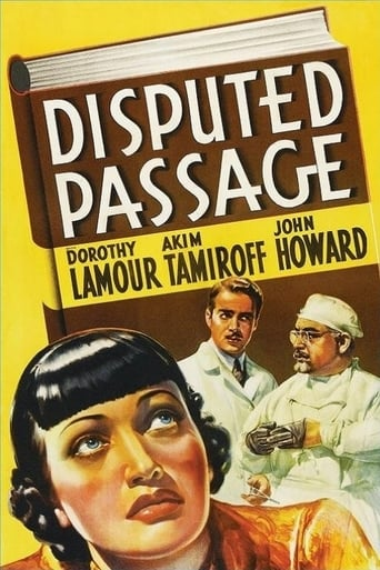 Watch Disputed Passage full movie downlaod openload movies