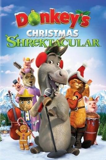 Poster of Donkey's Christmas Shrektacular