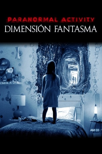 Poster of Paranormal Activity: Dimensión fantasma
