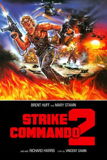 Poster of Strike Commando 2