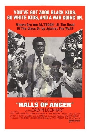 Poster of Halls of Anger