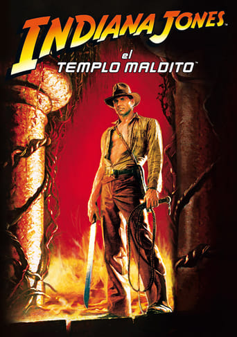 Poster of Indiana Jones y el templo maldito