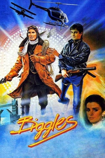 Biggles: Adventures in Time (1986) - poster