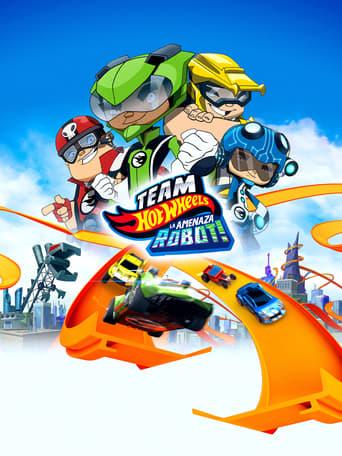 Poster of Team Hot Wheels: ¡La Amenaza Robot!