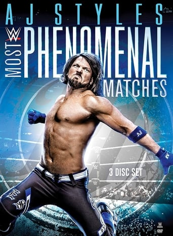 Poster of WWE: AJ Styles: Most Phenomenal Matches
