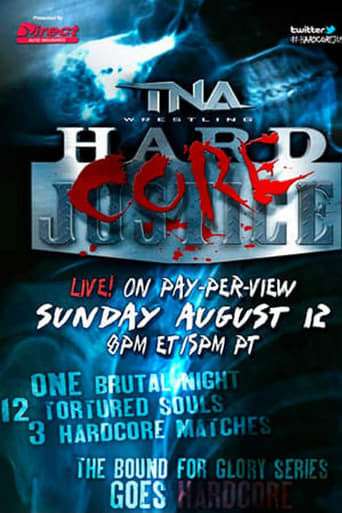 Poster of TNA Hardcore Justice 2012