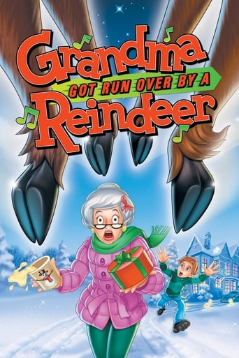 Poster of Grandma Got Run Over by a Reindeer
