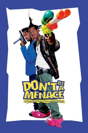 Poster Don't Be a Menace to South Central While Drinking Your Juice in the Hood