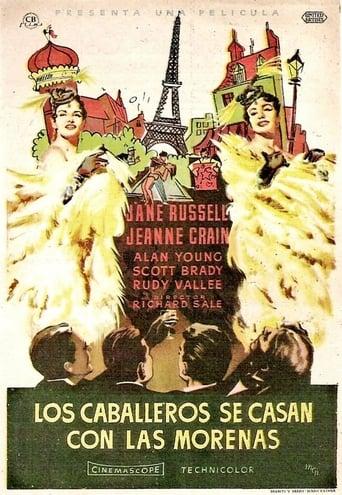 Poster of Los caballeros se casan con las morenas