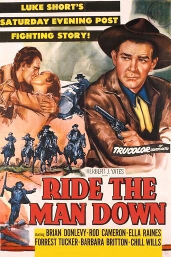 Poster of Ride the Man Down