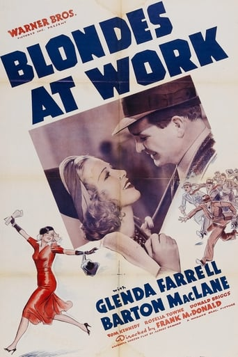 Poster of Blondes at Work