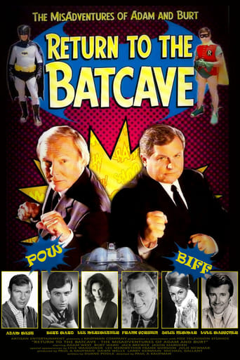Poster of Return to the Batcave: The Misadventures of Adam and Burt