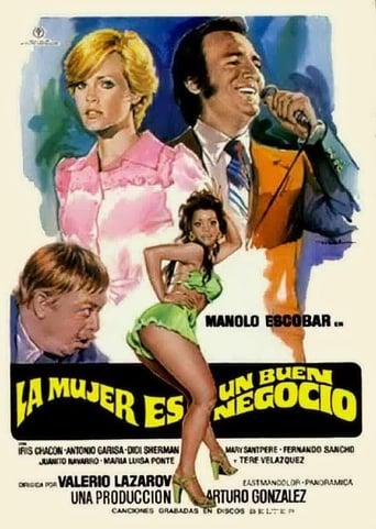 Poster of La mujer es un buen negocio