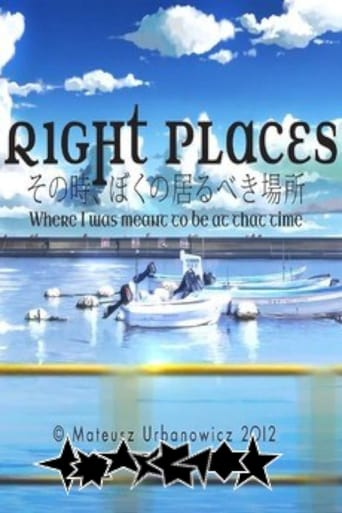 Right Places: Where I Was Meant to Be at That Time