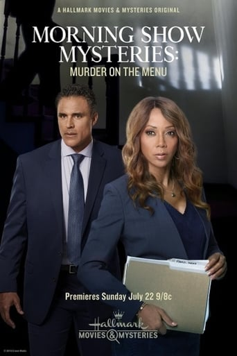 Poster of Morning Show Mysteries: Murder on the Menu.