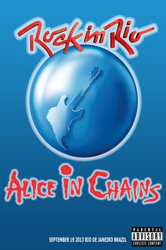Alice In Chains Rock In Rio 2013 - Poster