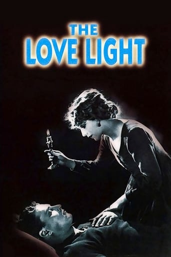 Poster of The Love Light