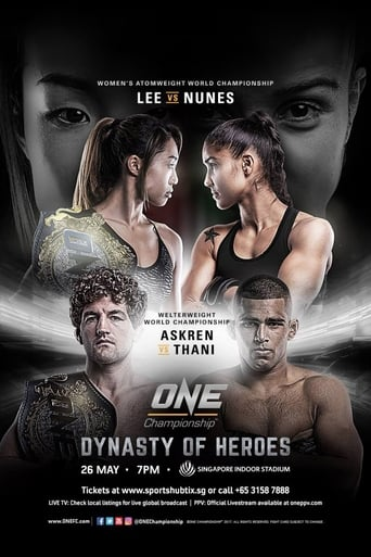 Poster of ONE Championship 54: Dynasty of Heroes