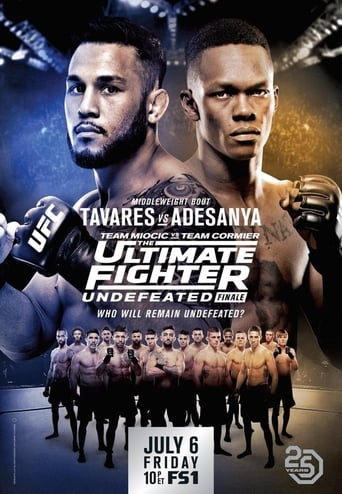 Poster of The Ultimate Fighter 27 Finale