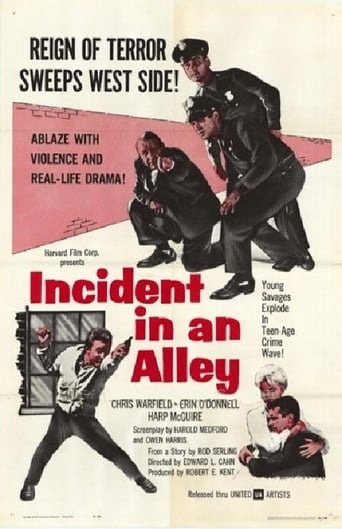 Poster of Incident in an Alley