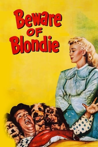 Poster of Beware of Blondie