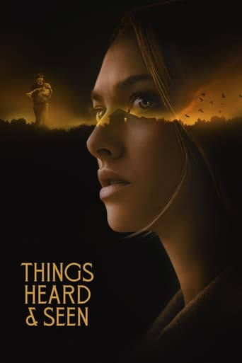 Things Heard & Seen Poster