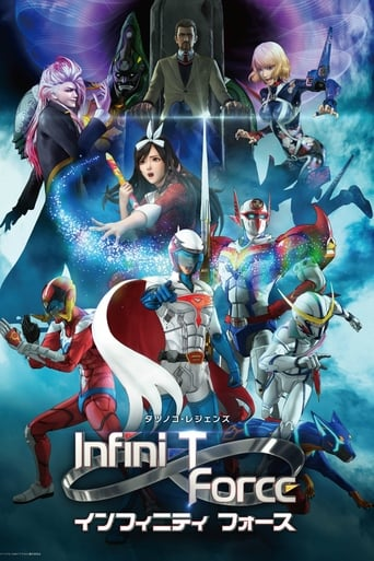 Poster of Infini-T Force 未来の描線