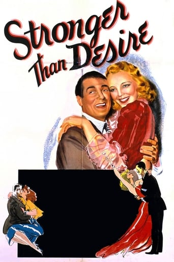 Poster of Stronger Than Desire
