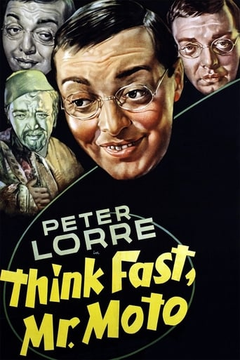 Poster of Think Fast, Mr. Moto