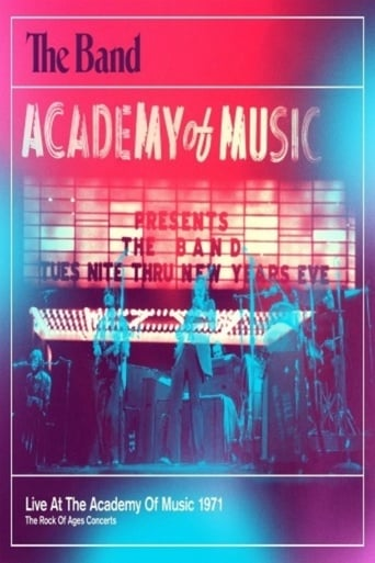Poster of The Band - Live At The Academy Of Music 1971