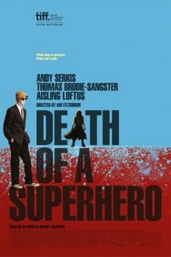 Poster of Death of a Superhero