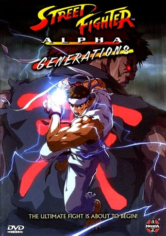 Poster of Street Fighter Alpha: Generations