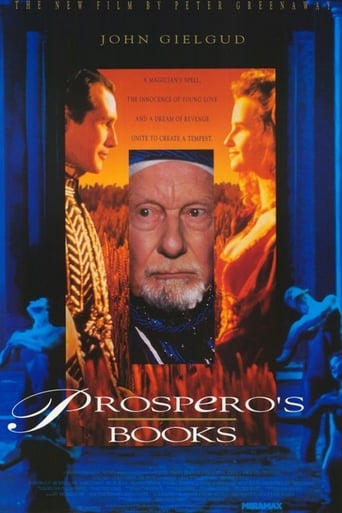 Poster of Prospero's Books
