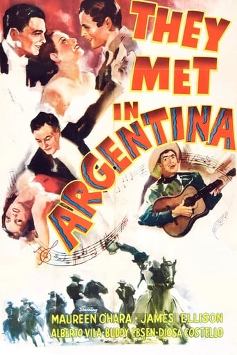 Poster of They Met in Argentina
