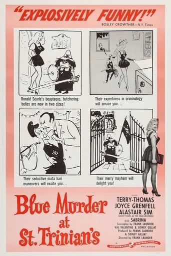 Poster of Blue Murder at St. Trinian's