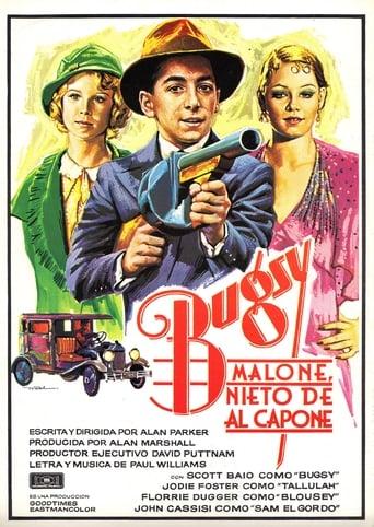 Poster of Bugsy Malone, nieto de Al Capone